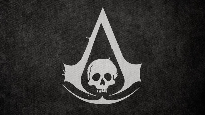 Assassins Creed 4 Black Flag Wallpaper Logo